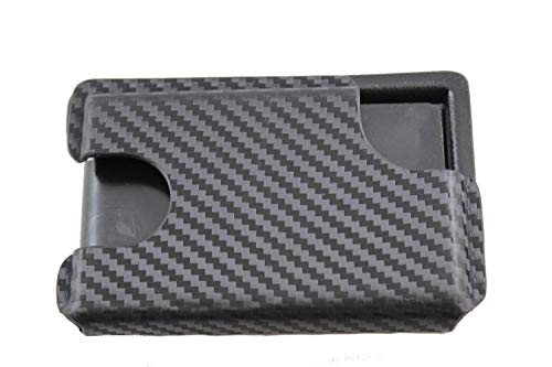 Multi Holsters BMT 2.0 with Money Clip Minimalist Kydex Wallet (Black Carbon Fiber)