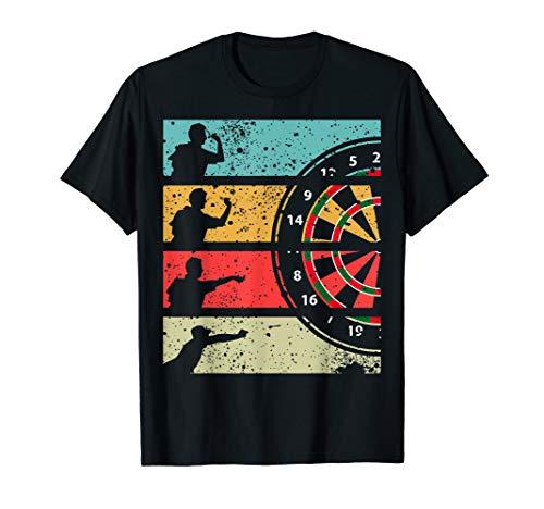 Herren Dart Shirt Lustig Herren Dart Geschenk für Dartspieler T-Shirt