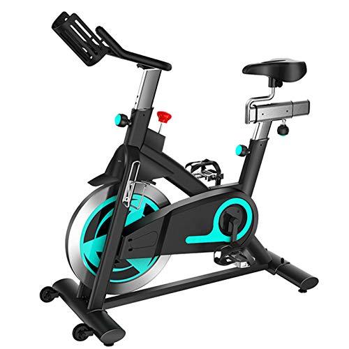 Fitness Bikehome Heimtrainer15kg Schwungrad Mute Riemenantrieb Magnetsteuerungswiderstand Multifunktional Mit Flaschenhalter/Handyhalter Spinning Bike