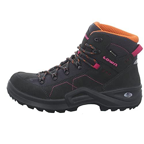 Lowa Mädchen Boots Kody III GTX Mid Outdoorschuh Rauhleder grau Gr. 39