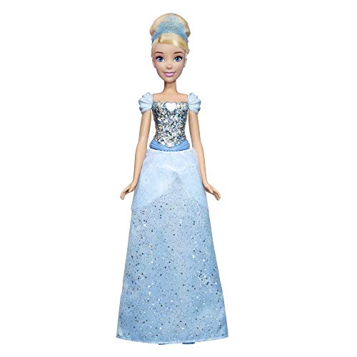 Hasbro Disney Princess- Shimmer Cinderella Bambola, Multicolore, E4158ES2