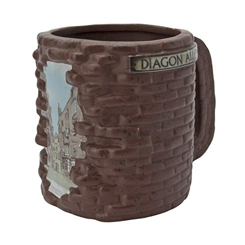 ABYstyle Harry Potter Diagon Alley Taza 3D, 500 ml, multicolor