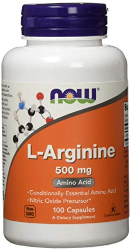Now Foods L-Arginine 500mg Standard, 100 Kapseln
