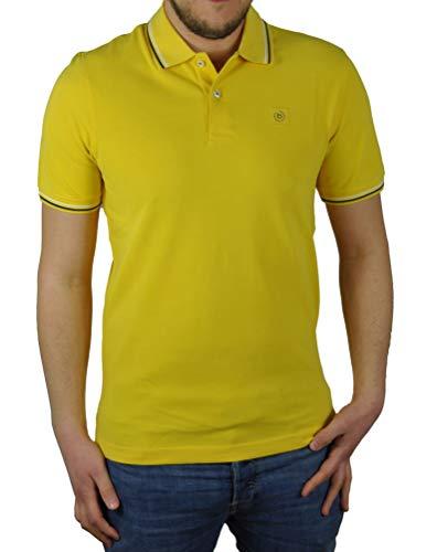 Bugatti - Herren Poloshirt (Art. Nr.: 8150-35001), Größe:M, Farbe:Gelb (620)