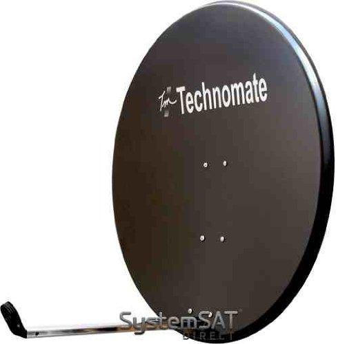 80cm Technomate Solid Satellite Dish & Fittings SystemSat