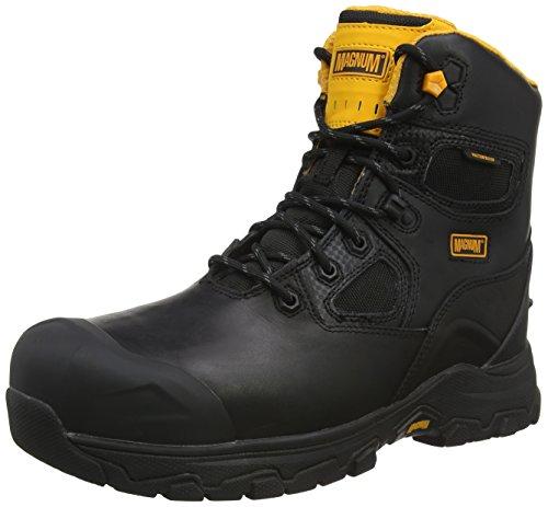 Magnum Barcelona 6.0 Composite Toe & Plate Waterproof, Zapatos de Seguridad Hombre, Negro (Black 021), 39 EU