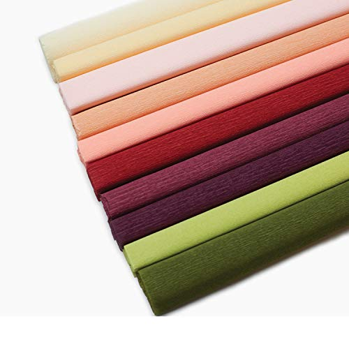 Price comparison product image Lia Griffith Extra Fine Crepe Paper Folds Rolls,  10.7-Square Feet,  Assorted Colors (LG11018)