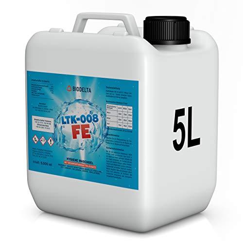 BioDelta LTK008 FE | Hygiene Waschmittel | Desinfektionswaschmittel | Wirkt desinfizierend für Ihre Kleidung | 5 L Konzentrat | Made in Germany