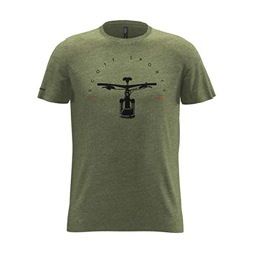 Scott T-Shirt 20 Casual Dye Grün Gr. L