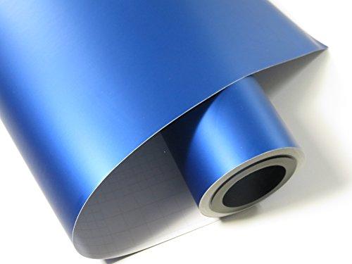 Könighaus (15,13€/m2) Ice Crust Blau Autofolie 100 x 152 cm blasenfrei mit Anleitung