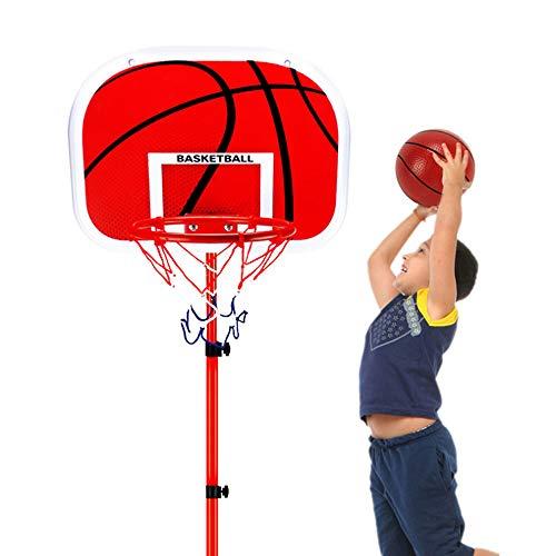 Transportable Basketballständer, Einstellbare Basketballkorb mit Ständer Höhenverstellbar Basketball-Backboard Ständer Hoop Set für Kinder und Jugendliche Geeignet, 5 PACK