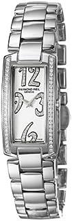 Raymond Weil - Shine 1500-ST1-05383 - Reloj analógico de Cuarzo para Mujer, Correa de Acero Inoxidable Color Plateado