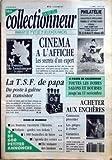 VIE DU COLLECTIONNEUR (LA) N° 2 du 17-10-1991 CINEMA A L'AFFICHE - LES SECRETS D'UN...