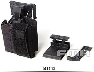 FMA WAS スタイル ユニバーサル ピストル ホルスター MOLLE 対応 BK ブラック