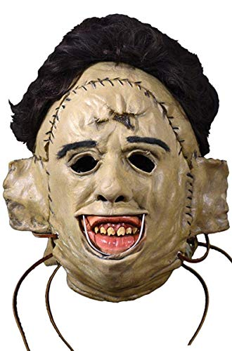 Texas Chainsaw Massacre The Latex Maske Leatherface 1974 Material: Kunststoff, in Originalkarton-Design. Hersteller: Trick or Treat.