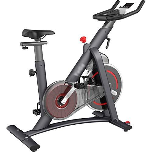Fitness-Bike Cyclette Silenziosa Con Controllo Magnetico Per Interni, Spin Bike Regolabili Per Uso Domestico, Volano Da 7,5 Kg, Regolazione A 100 Velocità ( Color : Gray , Size : 101*51*116 cm )