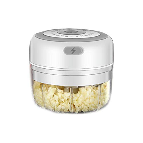 Wenhe Mini batidora eléctrica de ajos, portátil, para pimienta, ajo, chili, verduras,...