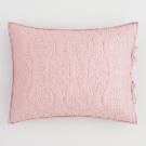 Blush and Gray Simone Reversible Pillow Shams Set of 2 | World Market