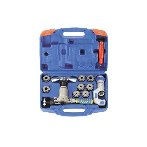 Abocardador escentrico cono 45º con adaptadores independientes por medida.