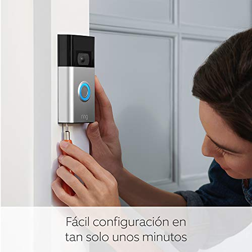 Ring Video Doorbell   Vídeo HD 1080p,...