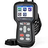 Car Code Reader, OBD2 Scanner with Full OBD2 Functions and Battery Test,​Car Diagnostic Tool with Code Definition, Auto Check Engine Light Scan Tool for OBDⅡ Protocol Vehicle Since 1996 {New Version}