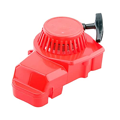 CeXaoYg Refoil Pull Start Assembly Reemplaza para 47cc 49cc 2-Stroke Air Cooled Motoccycle Mini Moto Dirt Pocket Bike ATVs (Rojo) CeXaoYg