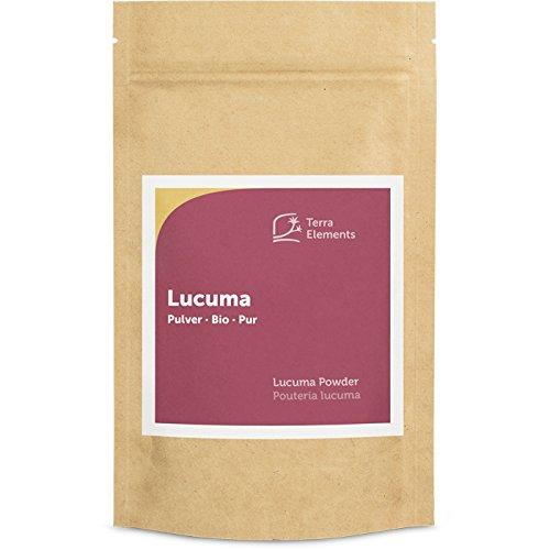 Terra Elements Bio Lucuma Pulver, 200 g I 100% rein I Vegan I Rohkost