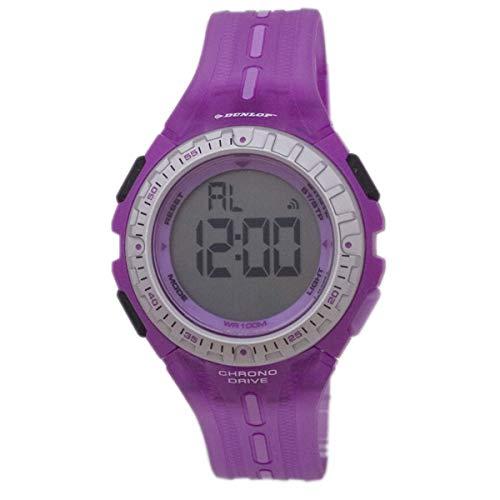 Dunlop Reloj Digital para Mujer de Automático con Correa en Resina DUN-140-L09