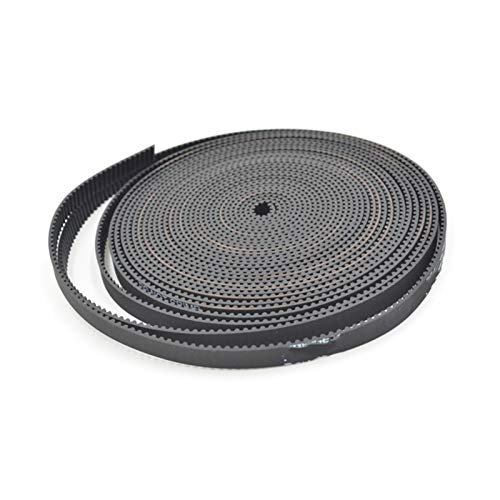 ZHaonan-timing belt 2MGT 2M 2GT Open Synchronous Timing Belt, GT2 2M-6 2GT-6, Width 6mm, 5 meters, Rubber Small Backlash Linear Motion 3D Printer Replacement parts