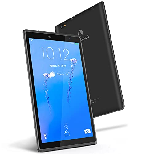 Tablet 8 Pulgadas Android 10 IPS Ultrar-Rápido Tablets HD 1280 * 800 Quad Core 3GB RAM 32GB/128GB ROM WiFi 5000mAh Bluetooth 4.2-Certificación Google GMS (Azul) (Negro)