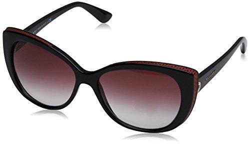 Bulgari 0Bv8157Bq 901/8H 57 Gafas de sol, Negro (Black/Viola), Unisex-Adulto