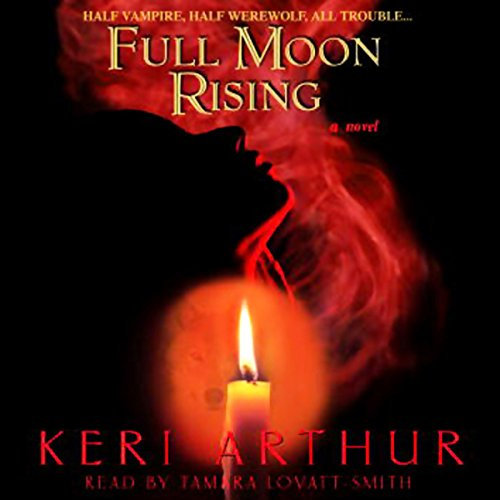 Full Moon Rising audiobook cover art