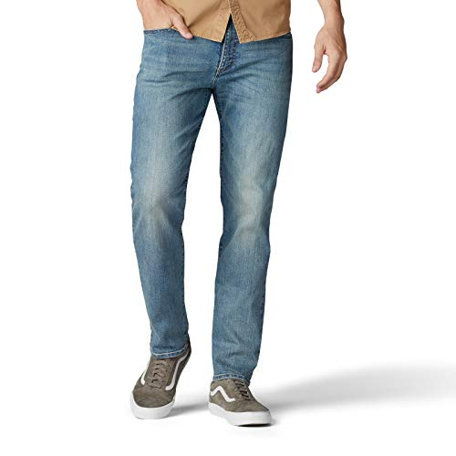 Lee Men's Performance Series Extreme Motion Straight Fit Tapered Leg Jean, Fernando, 32W x 30L
