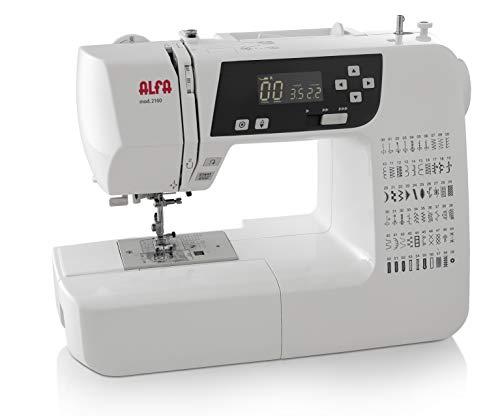 Alfa Modelo 2160-Maquina de Coser electrónica, 60 Puntadas