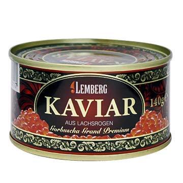 Gorbuscha - Lachskaviar, Grand Premium, 140g