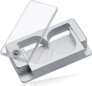 EqualSplit Pill Splitter, Double Blades, Cleanly Split or Quarter Any Pill - Great for Pets Too!