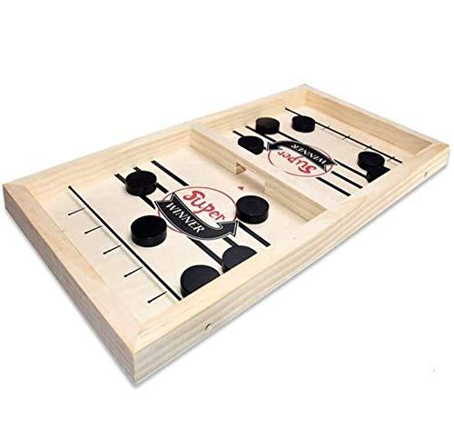 Sunshine smile brettspiel Hockey,Fast Sling Puck Game,Tisch Hockey brettspiel,katapult Schach,katapult brettspiel,Bouncing brettspiel,Bouncing Chess Hockey Game,Puck Spiel Holz