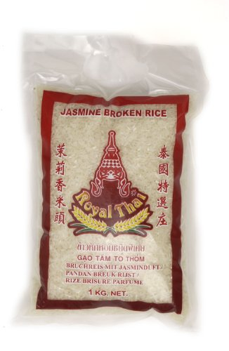 ROYAL THAI RICE Gebrochener Jasmin Reis, 1000 g