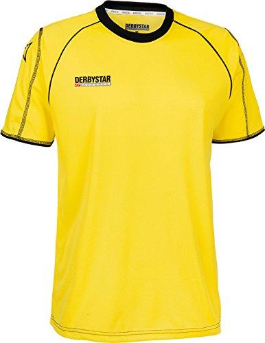 Derbystar Trikot Energy Kurzarm, XXL, gelb schwarz, 6155070520