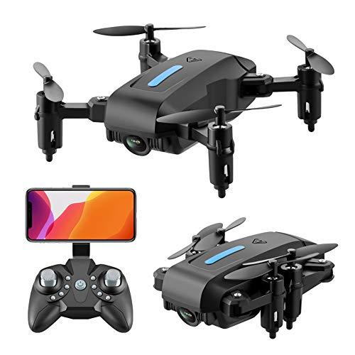GYZLZZB Luftaufnahme Fernbedienung Drohne, mit 4k HD Dual Camera, tragbar faltbar, 12 Minuten Flugzeit, WiFi-Bildübertragung, Gestensteuerung / [Fotoaufnahme, Nothalt, 3D VR