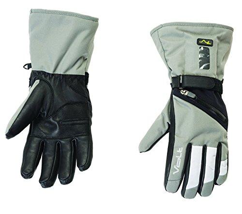 Women's Volt Heated Snow Gloves, Grey, Medium