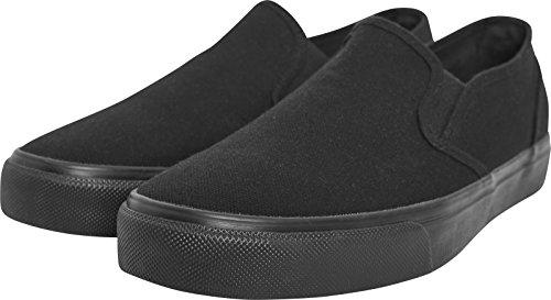 Urban Classics Low Sneaker, Zapatillas sin Cordones Unisex Adulto, Negro Blk, 42 EU