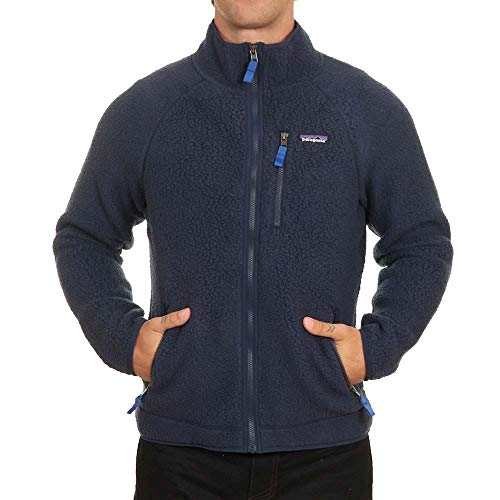 Patagonia Herren Jacke M's Retro Fleece Jkt XL Blau (New Navy)