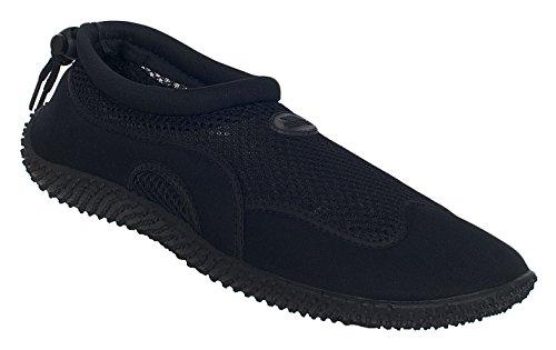 Trespass Paddle, Chaussures de Sports Aquatiques Mixte, Noir (Black), 39 EU