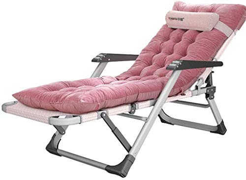 Candtong Salón de la piscina cubierta de la silla silla de ocio al aire libre jardín silla de salón de sol silla plegable silla de salón de ocio, que se utiliza for la terraza, camping, playa, terraza
