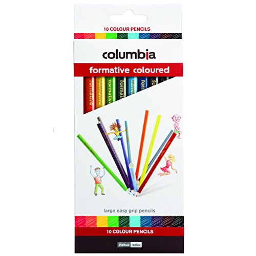 Columbia Formative Colour Pencil Round Pack of 10