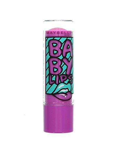Maybelline Baby Lips Pop Art 8HR Moisturising Lip Balm-18 Blueberry Boom