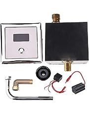 Niunion Válvulas inductivas automáticas para Inodoro, Lavabo de Montaje en Pared, detección automática, válvula de Descarga para urinario, baño, grifos para Inodoro