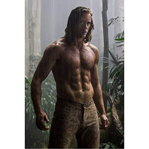 MXIBUN Poster Und Drucke Die Legende Von Tarzan Film Wandkunst Bilder Leinwand Malerei Geschenk Ohne Rahmen 50 * 70 cm