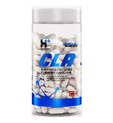 MUSCLE SCIENCE CLA, Fat Burner (120 Capsules)